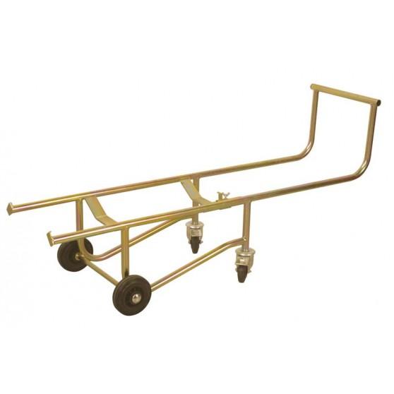 Drum handling cart for 220 L barrel