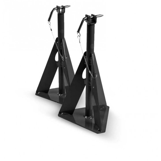 Set of 2 axle stands for MOBILILIFT 2.2T and 2.5T