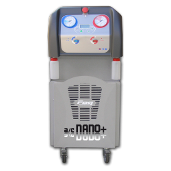 R134A automatic refill station designed to be transported