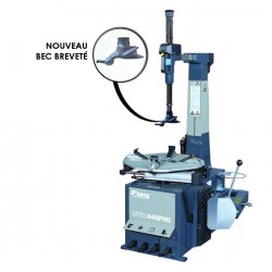 Automatic swing arm for minimum space requirements