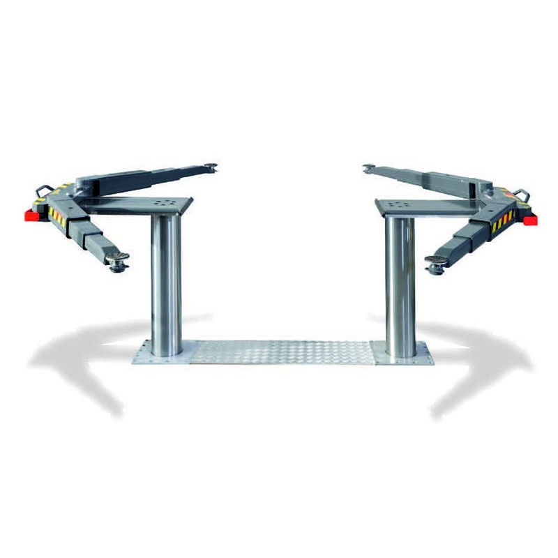 5.5T Inground lift with V arms