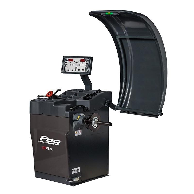 Laser LCD wheel balancer