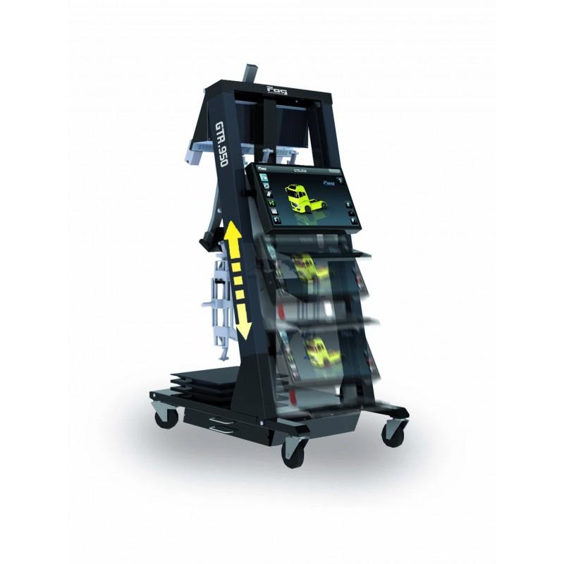 Wheel aligner - Heavy duty vehicle