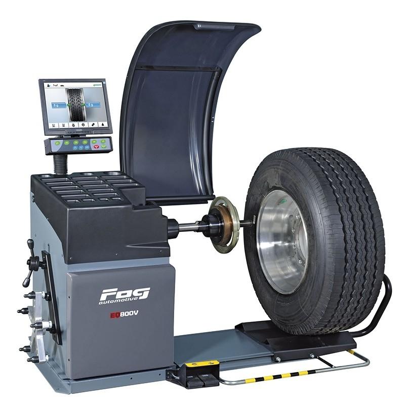 Wheel balancers - Heavy duty vehicle