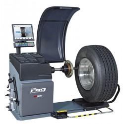 Wheel balancer - Heavy duty vehicle