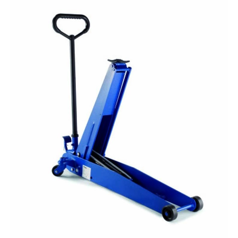 Air hydraulic trolley jacks