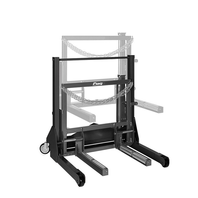 Heavy duty vehicle wheel dolly