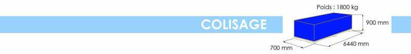 494 9821 - colisage