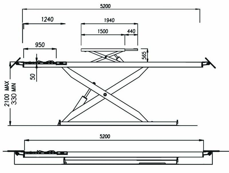 4129316D-PJX-schéma vue côté